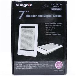 Sungale CD706A 7-Inch TFT LCD Hi-Def eReader/Multi