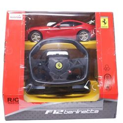 F12 Berlinetta Ferrari R/C with Steering Wheel 'NE