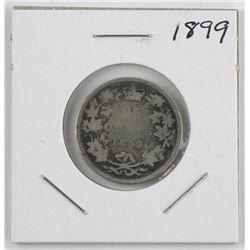1899 Canada Silver 25 Cent