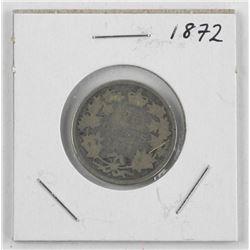 1872 Canada Silver 25 Cent