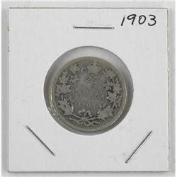 1903 Canada Silver 25 Cent
