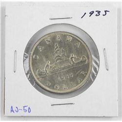 1966 Canada Silver Dollar. MS60