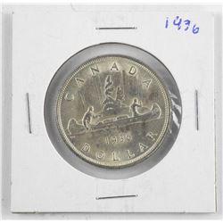 1954 Canada Silver Dollar.