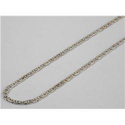 925 Silver - Necklace 16  GUCCI Link