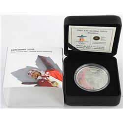 2007 - 925 Sterling Silver $25.00 Olympic Coin - Duathlon