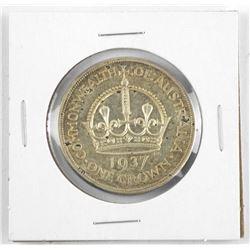 Australia Coronation Crown 1937