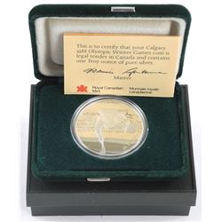 925 Sterling Silver Proof $20.00 Olympic Coin