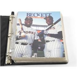 Binder Lot - Beckett Guides