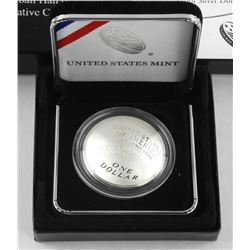 USA Mint, 2014 Baseball Hall of Fame Coin Proof .900 Silver