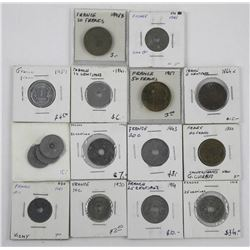 Lot - Coins of France
