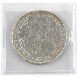 Mexico - 1796 8 Reales KW#109 P 24.33gr. Scarce