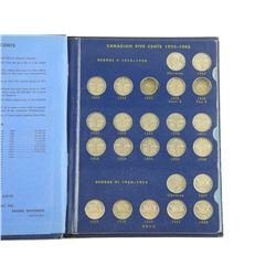Estate - Canada Five Cent Collection 'Whitman'