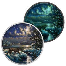 2017 .9999 Fine Silver $30.00 Coin 'Cougar' (SAR)