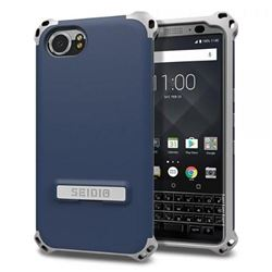 Seidio Dilex Case with Kickstand for BlackBerry KEYOne (Midnight Blue/Gray)