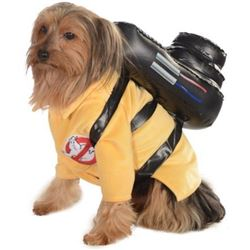 Ghostbusters Movie Pet Costume- Medium- Ghostbuster Jumpsuit