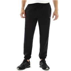 Champion Men's Closed Bottom Light Weight Jersey Sweatpant- Black- Large