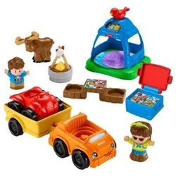 Fisher-Price Little People Camp Ground Playset