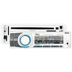 BOSS Audio Systems MR752UAB Single Din Marine Solid State Bluetooth Enabled MP3/CD/CDR/CDRW/AM/FM Re