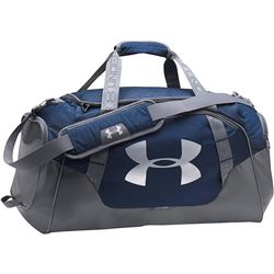 Under Armour Undeniable 3.0 Duffle- Midnight Navy (410)/Silver-