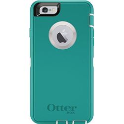 OtterBox DEFENDER iPhone 6/6s Case - Frustration-Free Packaging - SEACREST (WHISPER WHITE/LIGHT TEAL