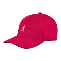 Kangol Men's Wool Flex Fit Baseball- Rojo- Small/Medium