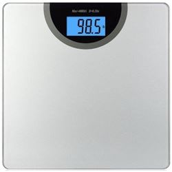 BalanceFrom Digital Body Weight Bathroom Scale with Step-On Technology and Backlight Display- 400 Po