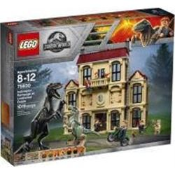 Jurassic World dinosaur play set includes LEGO minifigures Owen- Claire- Maisie- Mills- Wheatley and