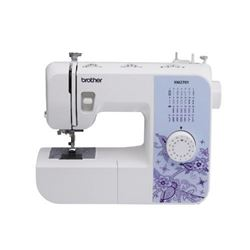 Brother Sewing Machine- XM2701- Lightweight Sewing Machine with 27 Stitches- 1-Step Auto-Size Button