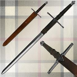 Trademark 20-901117 William Wallace Medieval Sword with Sheath Silver