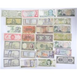 Estate Lot World Paper Currency