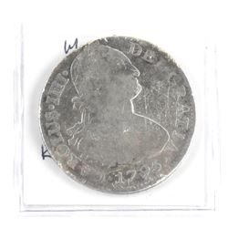 Mexico 1795M 8 Reales KM#109 Silver