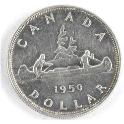 1950 Canada Silver Dollar.