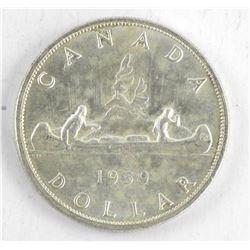 1959 Canada Silver Dollar.