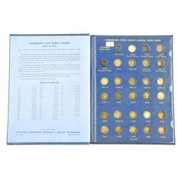 Estate Canada 925 Sterling Silver 5 Cents Collecti