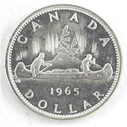 1965 Canada Silver Dollar.