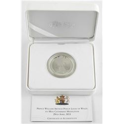 Royal Mint 2011 Proof Coin 925 Silver