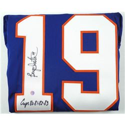 B. Trottier Islanders Jersey Signed with C.O.A.