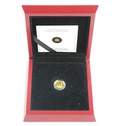2012 .9999 Fine Pure Gold Coin, Queen's Diamond Ju