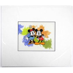 Disney - Mickey and Minnie mouse Hand Painted 16x1