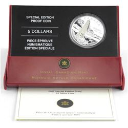2006 Proof Silver Dollar Victoria Cross (EE)