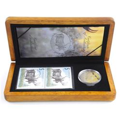 The Majestic Moose - $5.00 LE Stamp and Coin Set.