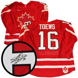 J. Toews Olympics 2010 PRO Jersey Signed with C.O.
