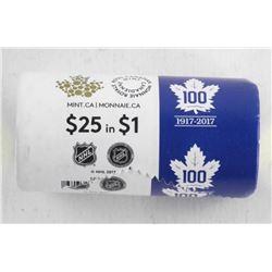 1917-2017 TML 100 Yeats Special Mint Wrap 25 $1.00