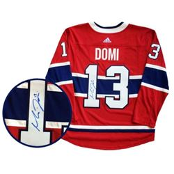 MAX DOMI PRO Montreal Jersey Signed with C.O.A.