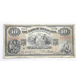 The Bank of Nova Scotia Jan 1935 Ten Dollar Note