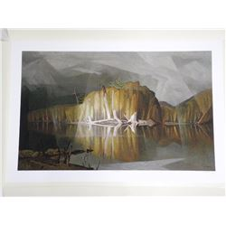 A.J. Casson (1898-1992) Litho 'Mist Rain and Sun'