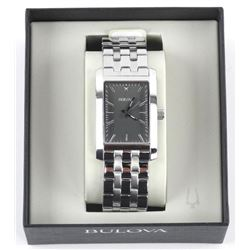 UNISEX Bulova Watch. Black Dial (MKR) (137)