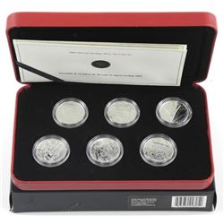 2005 RCM Second World War 50 Cent Coin Set
