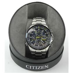 Citizen - Men's 'Blue Angels' Stainless Steel, Eco