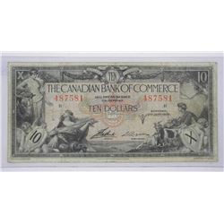 Canadian Bank of Commerce Jan 1935 Ten Dollar Note